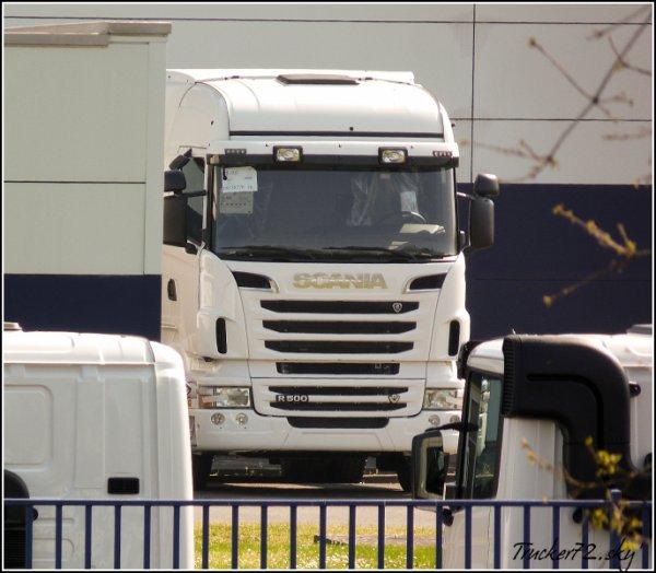 En direct de Scania France (avec 2 mois de décalage... bon ok ---->)