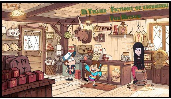ʚ【SailorFuku】『Gravity Falls』— Cadeaux ɞ