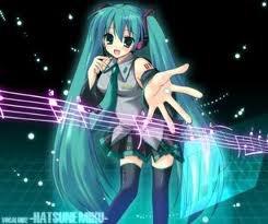 Myku Hatsune... trop mignonne!!!