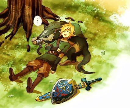 Fow' Zelda Twilight Pincess!! <3