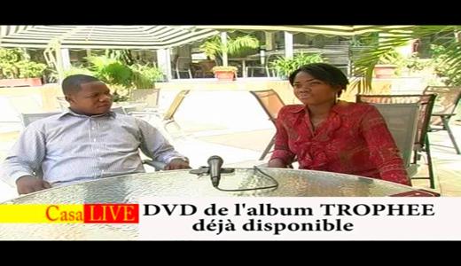 DVD TROPHEE DEJA DISPONIBLE INTERVIEW AVEC FR MOISE MATUTA