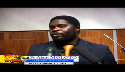 Alain Moloto et le groupe GAEL face à la presse