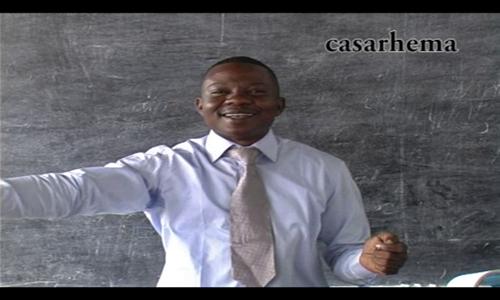 enseignement avec le past Robert Kombo