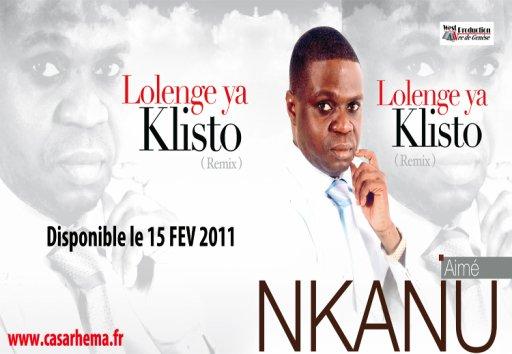 LOLENGE YA KLISTO nouvel album du fr Aimé Nkanu