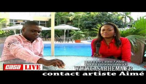 Casa Live avec Aimé Nkanu