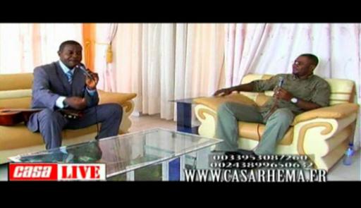 Casa Live avec fr Mauro Nsumbu