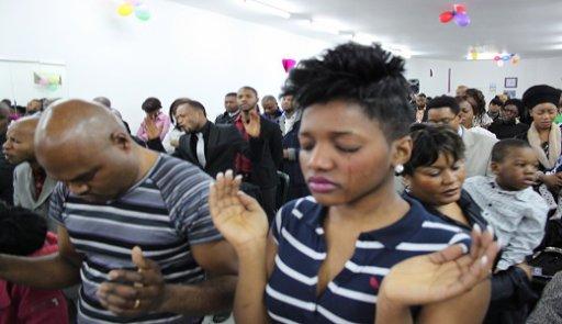 culte à l'église montagne de sion