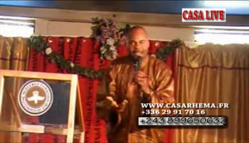 prédication avec past Adelard Ndaye