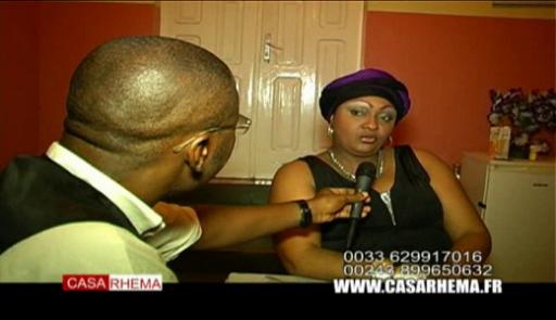 Casa Live avec sr florence Kuyitila artiste comédienne