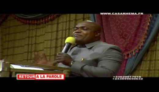 prédication avec evê Pascal Mukuna