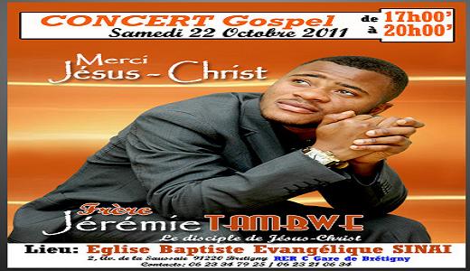 fr Jérémie Tambwe en concert