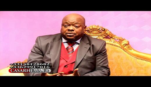 prédication avec le Dr Lévi Jackson Walelu