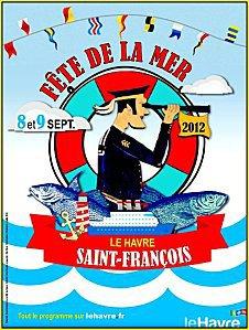 """Affiche """"Mer en fête"""" 2012"""