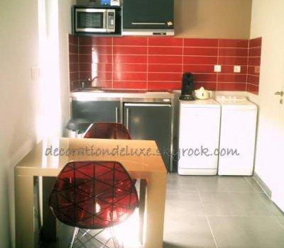 petite cuisine design dans studio blog de decorationdeluxe. Black Bedroom Furniture Sets. Home Design Ideas