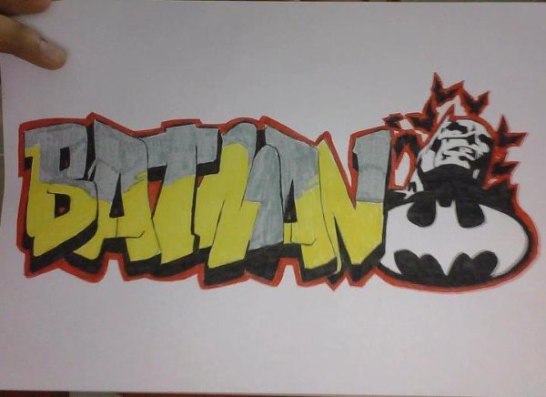 BATMAN , GRAFF ME