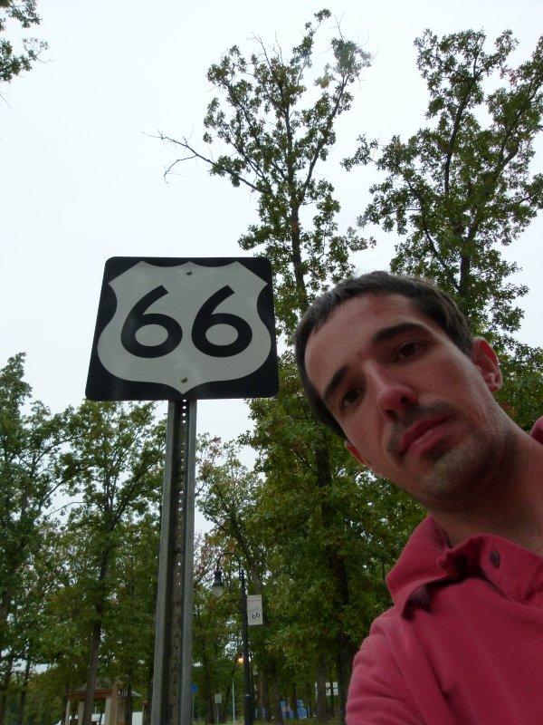 ";)    Aire de repos ""route 66""    ;)"