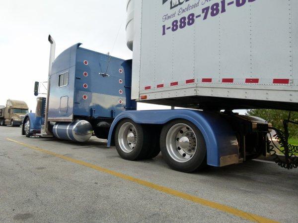 Divers trucks vu au Etats-Unis