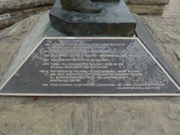 Monuments de la ville de Billings dans l'état du Montana