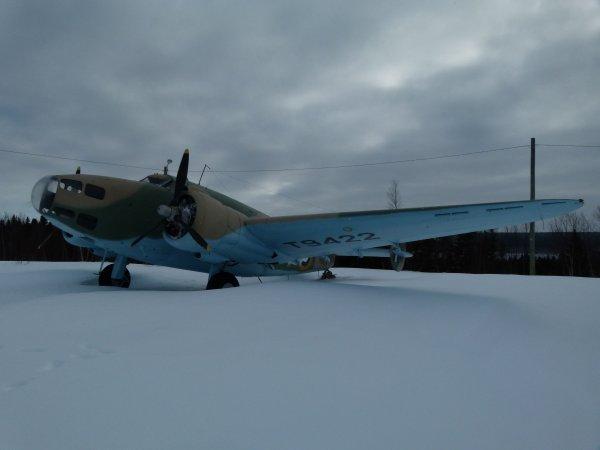 Rencontre avec un petit musée d'avion à la ville de Gander sur le chemin du retour