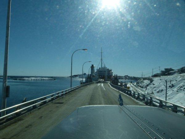 Retour a la réalité: direction Québec !