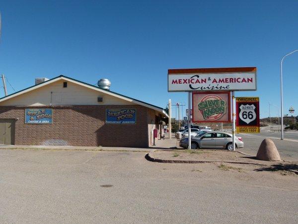 """restaurant typique """"route 66"""" au Nouveau-Mexique"""