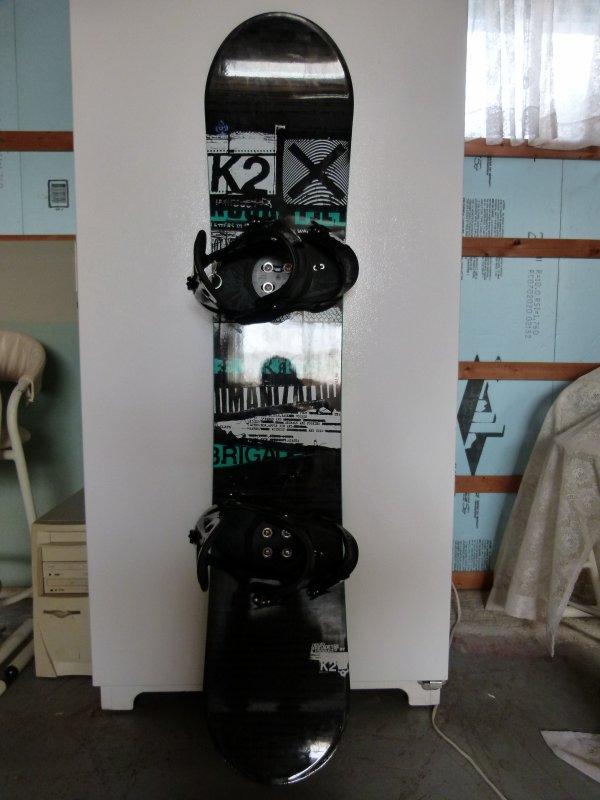;)    Ma nouvelle planche de snowboard    ;)