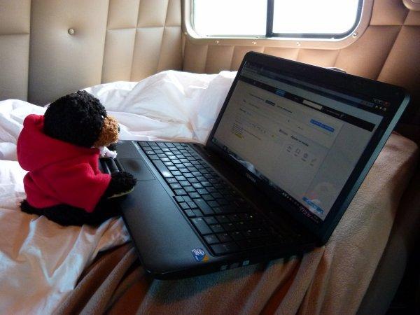 :)    Bonjour lé gen de blog ! Cé Teddy....    ;)