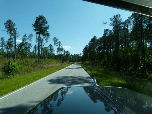 Paysages divers de la Caroline du nord