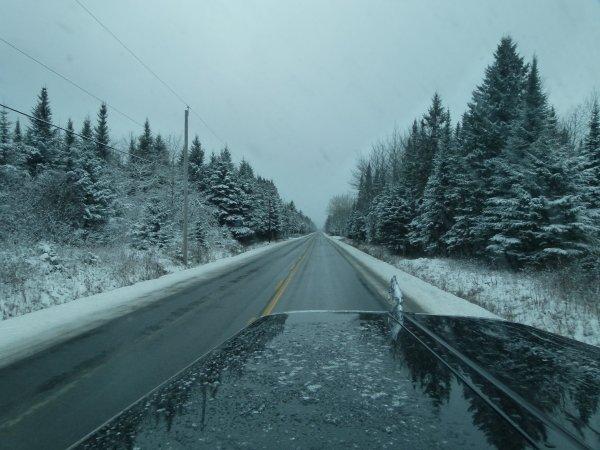 ;)    Le mythique hiver canadien est de retour...    ;)