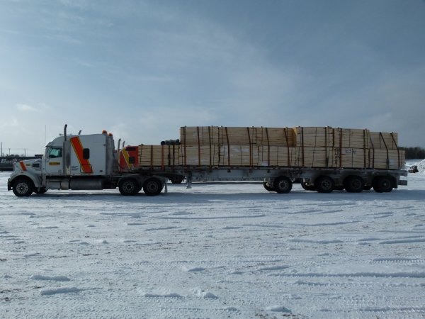 :)    On teste la boite Fuller avec un p'tit voyage de 56 tonnes !    :)