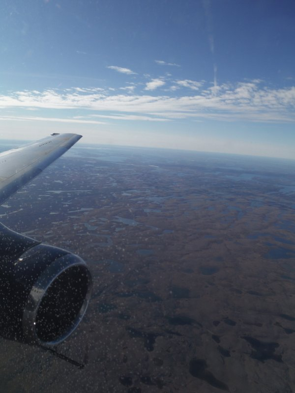 :)    En vol pour le Mary River Project au Nunavut    :)