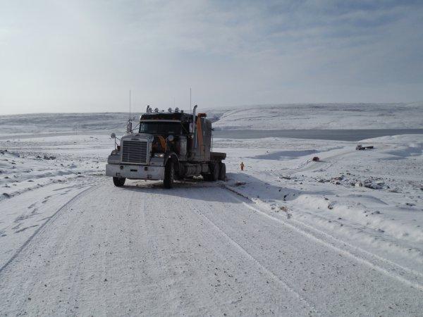 Quand Dame Nature s'acharne au Nunavut