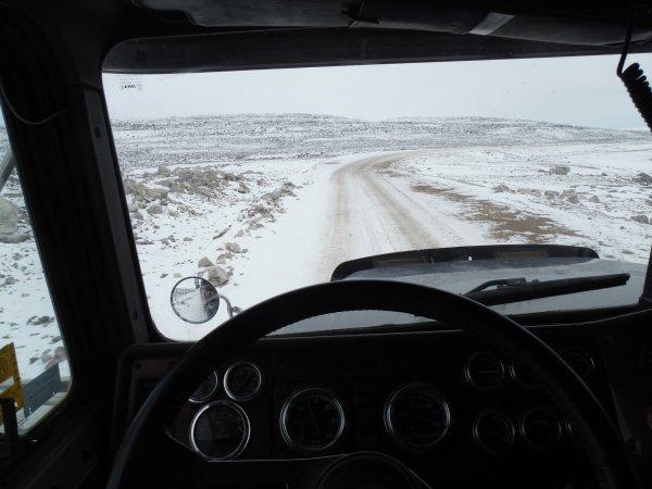 :)    ;)    Un p'tit routier Breton au Baffinland    ;)    :)