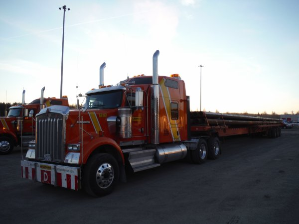 :)    Premier voyage avec mon nouveau truck    :)