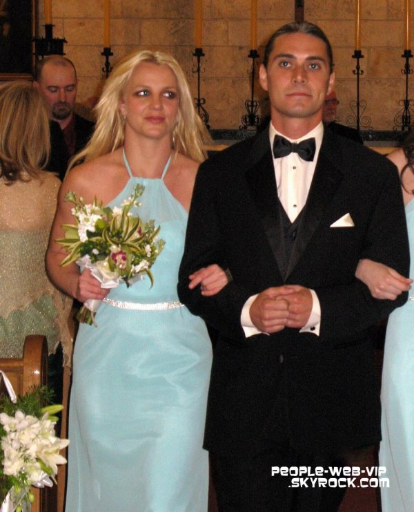 Britney Spears Britney en demoiselle d\u0027honneur lors du