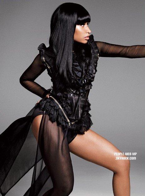 Nicki Minaj a la une du magasine   Elle