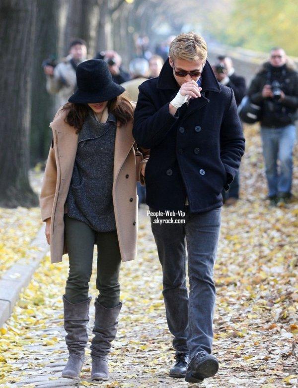 LE COUPLE RYAN GOSLING ET EVA MENDES, ENSEMBLE DANS LES RUES DE PARIS !