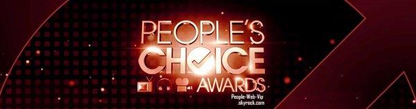 LES PEOPLE'S CHOICE AWARDS 2012 TAPIS ROUGE ET PALMARÈS :