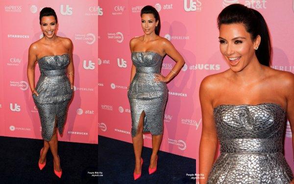 """Kellan Lutz & Kim Kardashian sur le tapis """"noir""""  à l'évènement hebdomadaire des  Us Weekly Hot Hollywood Style Event ( mercredi (Avril 18) à West Hollywood, Californie)"""