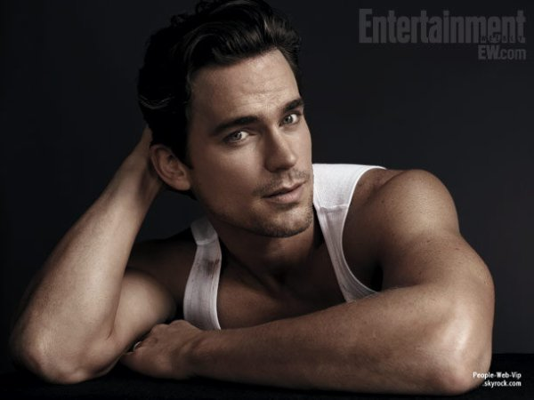 "Channing Tatum, Matthew McConaughey, Joe Manganiello & Matt Bomer Simplement sexy pour le magazine ""  Entertainment Weekly """