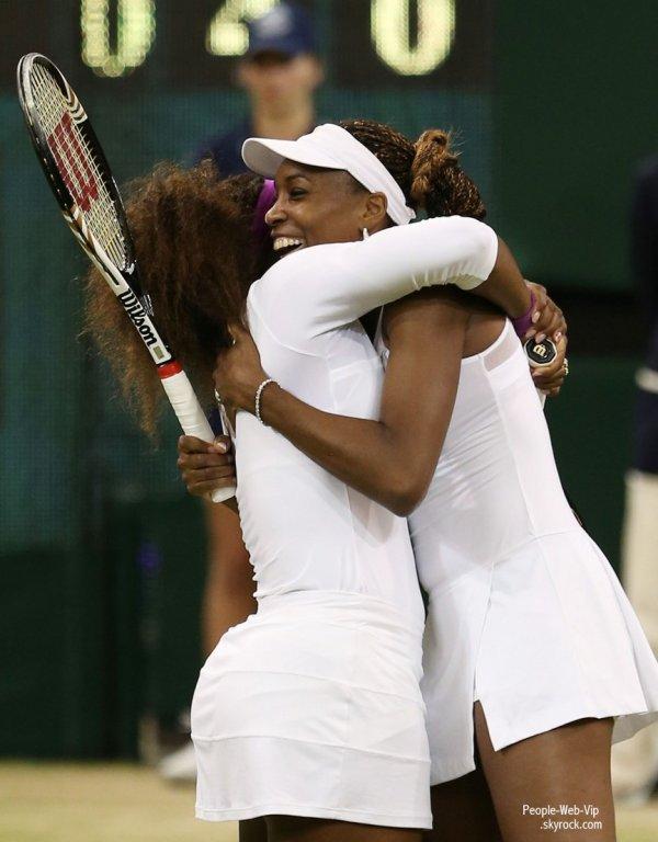 Wimbledon : Roger Federer & Serena et Venus Williams