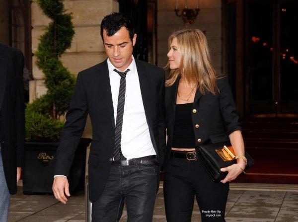 Jennifer aniston est fiancé à Justin Theroux!!