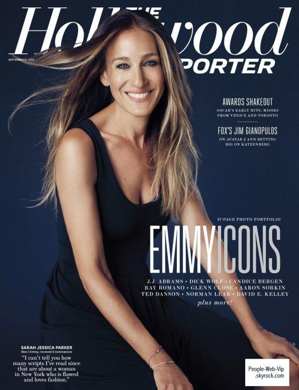 """Sarah Jessica Parker Prend la pose sur la couverture du magazine """"The Hollywood Reporter's """""""
