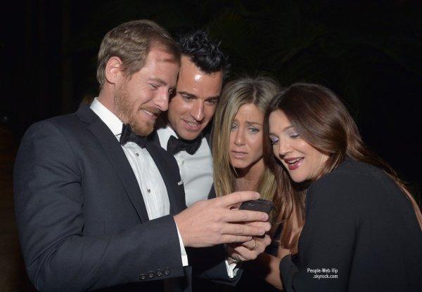 Drew Barrymore, Jennifer Aniston, Justin Theroux, Chris Evans et sa petite amie Minka Kelly ainsi que Robert Pattinson ont assister au Gala 2012 LACMA Art Film  (samedi (Octobre 27) à Los Angeles.)