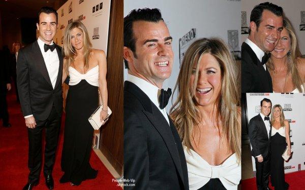 Jennifer Aniston et Justin Theroux ont assister à la  2012 American Cinematheque Award Gala  (à l'Hôtel Beverly Hilton le jeudi (Novembre 15) à Beverly Hills, en Californie)