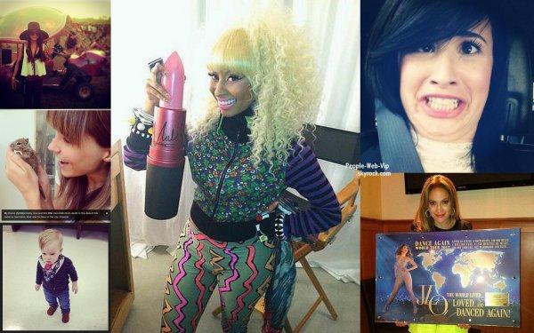 PHOTOS TWITTER : Vanessa Hudgens, Sophia Bush, Hilary Duff, Nicki Minaj, Demi Lovato, Jennifer Lopez,  Selena Gomez, Miley Cyrus et Taylor Swift Lesquelles preferez vous ?