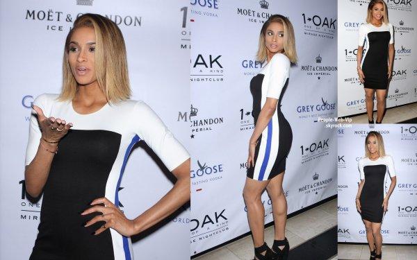 Ciara fête la sortie de son nouvel album à la discothèque 1OAK au Mirage Hôtel & Casino ( vendredi (5 Juillet) à Las Vegas, Nevada)