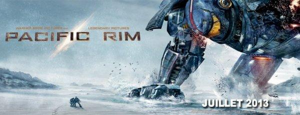 PACIFIC RIM  GIGANTESQUE! ÉPIQUE! INCROYABLE ! BEAU ! PARFAIT ! AU TOP !  Date de sortie : 17 juillet 2013 Avec :Charlie Hunnam, Idris Elba, Rinko Kikuchi