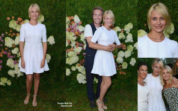 Cameron Diaz et Naomi Watts aperçues au diner Baby Buggy Summer Dinner . (samedi (27 Juillet) à East Hampton, NY)