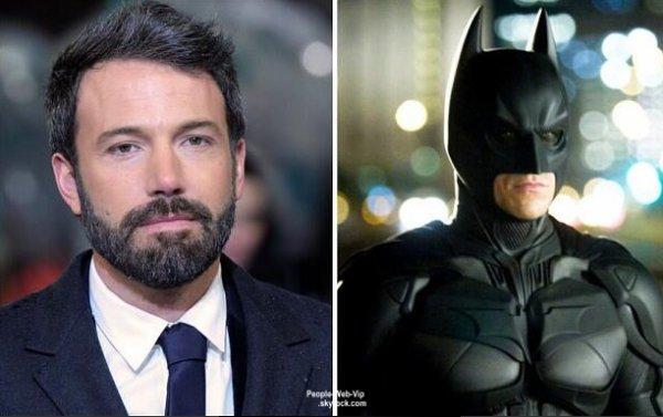 ManOfSteel : Ben Affleck est le prochain Batman ! DRAME ! ( ou pas )